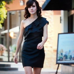 Apostrophe mini dress